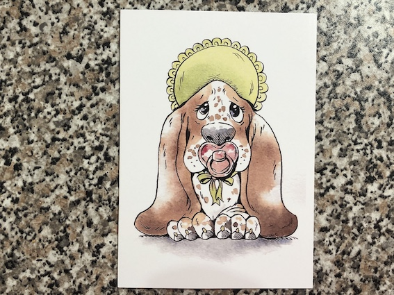 New Baby / Christening card
