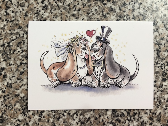 Wedding / anniversary card